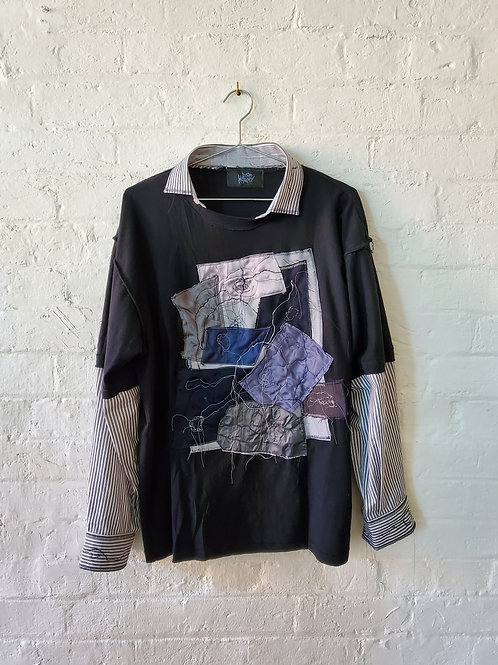PRE ORDER DIE HORNY - Deconstructed Shirt