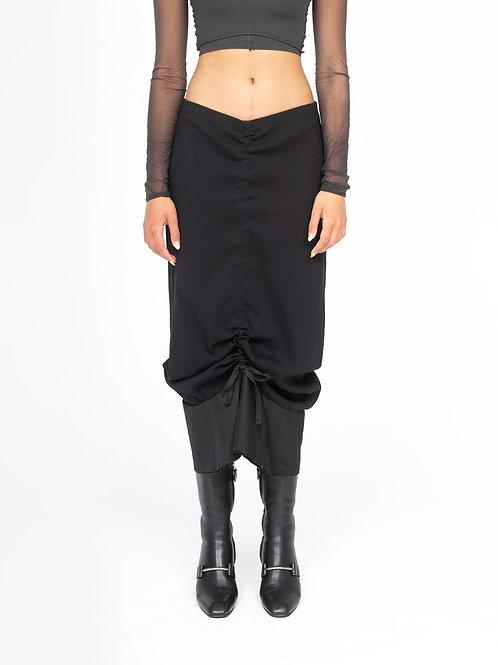BRB - Manipulation Skirt Black