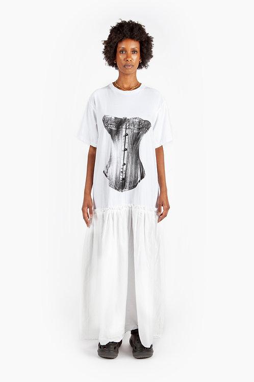 Pre-order - BRB - I Am Fancy Dress White