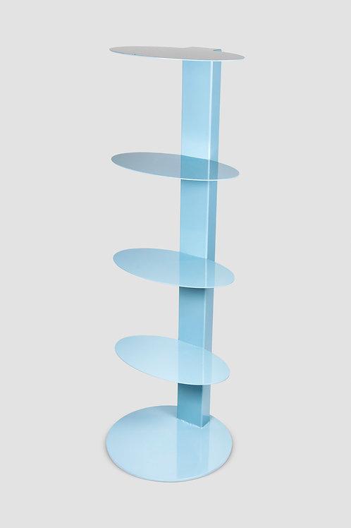 NICOLE LAWRENCE Pillar Shelf - Blue