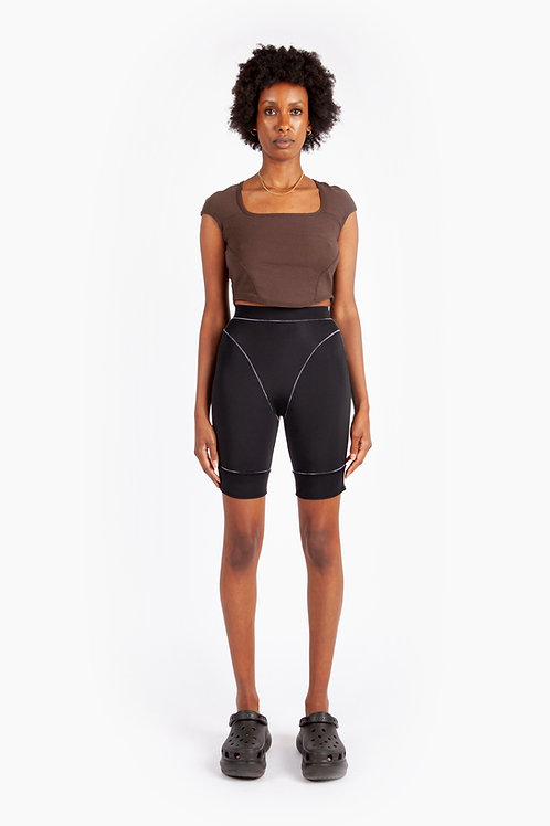 BRB - X3 Fitness Bike Shorts Black