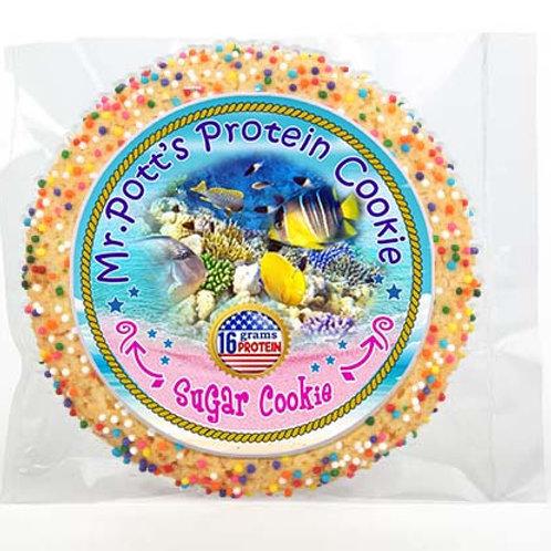 12 PAK Large - Salt Water Fish Protein Sugar Cookies