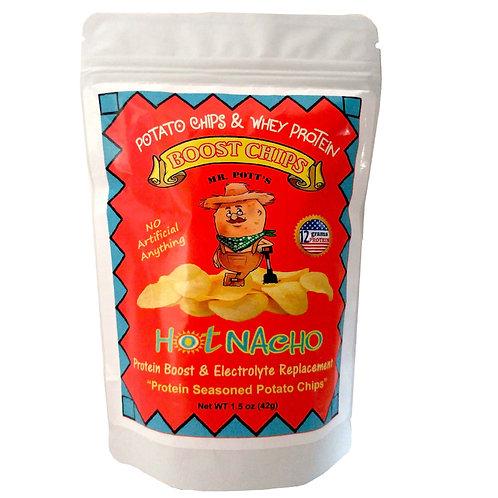 12 Pak Mr. Pott's Boost Chips (Hot Nacho)