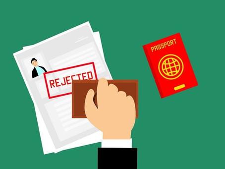 ¿Visa denegada? Estos son los principales motivos