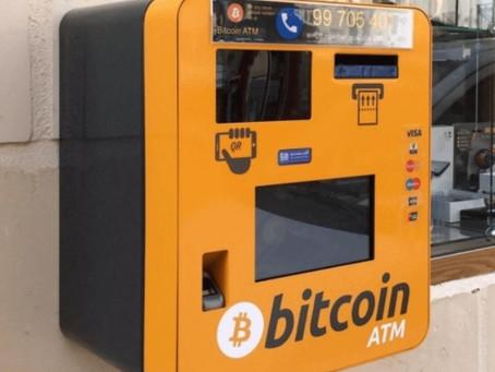 Así funcionan los cajeros ATM de criptomonedas