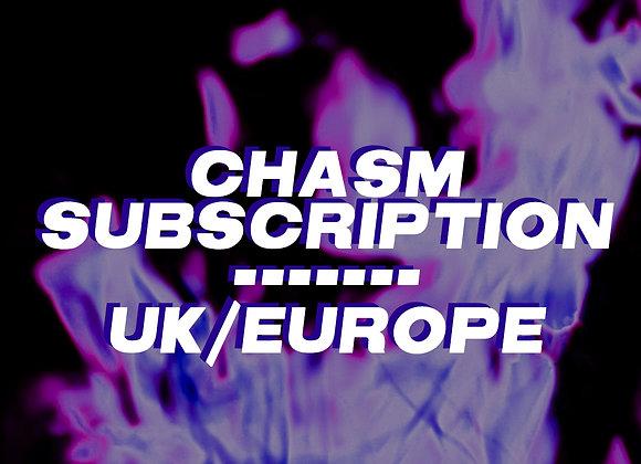 SUBSCRIPTION - UK/EUROPEAN