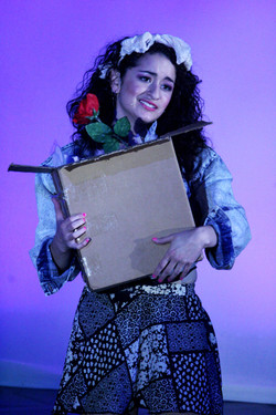 """As Holly in """"The Wedding Singer"""""""
