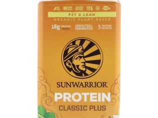 Sunwarrior, Protéines Classic Plus, à base de plantes biologiques, vanille,