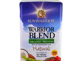 Sunwarrior Blend - Mélange de guerrier, protéines bio à base de plantes