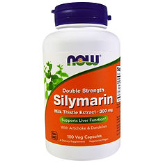 https://ch.iherb.com/pr/Now-Foods-Silymarin-Milk-Thistle-Extract-with-Artichoke-Dandelion-Double-Strength-300-mg-100-Veg-Capsules/802​
