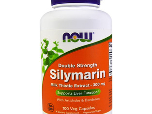 Now Foods, Silymarine, extrait de chardon marie