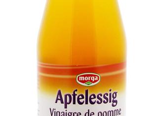 Morga vinaigre de pommes bio non filtré (Sun Store)