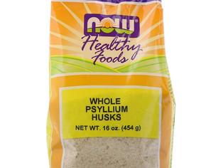 Now Foods, Enveloppes de psyllium entières