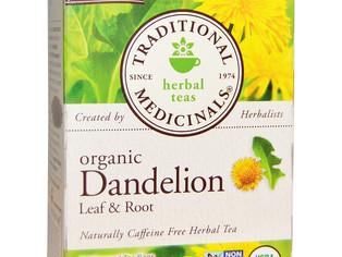 Traditional Medicinals, Tisane bio aux feuilles et racines de pissenlit, sans caféine