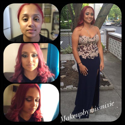 #mygoddaughter#prom#makeupbyme#hairbyme