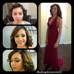 Prom2016#makeupbyme#makeupbymissnixie _bellablu17 I hope she enjoyed her night 😉
