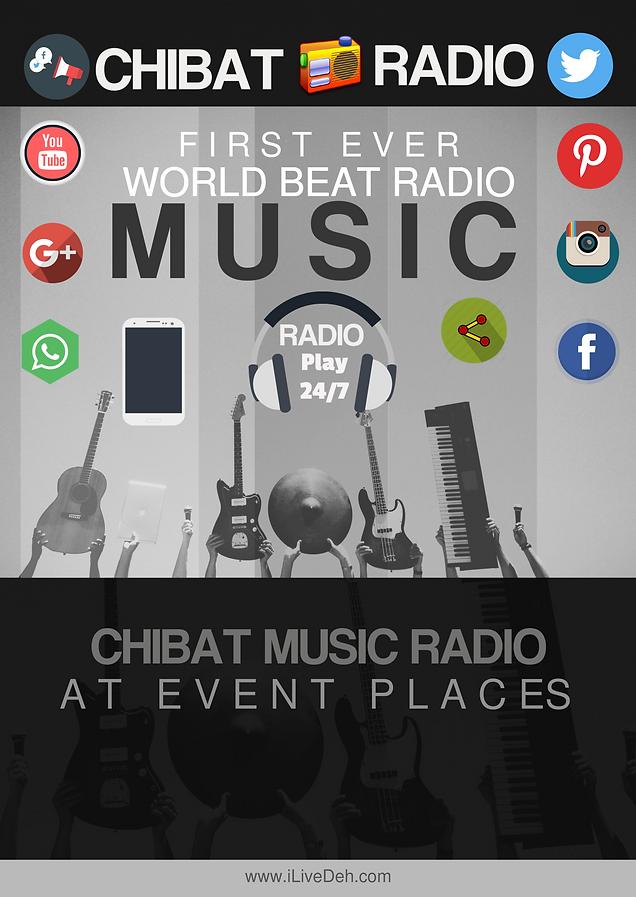 World Music Beats Chibat Radio App | whatsapp4business