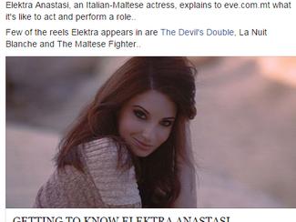 Getting to know Elektra Anastasi - Eve.com.mt