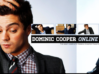 Dominic Cooper Online - Actress Elektra Anastasi speaks about Dominic on the set of The Devil's Doub