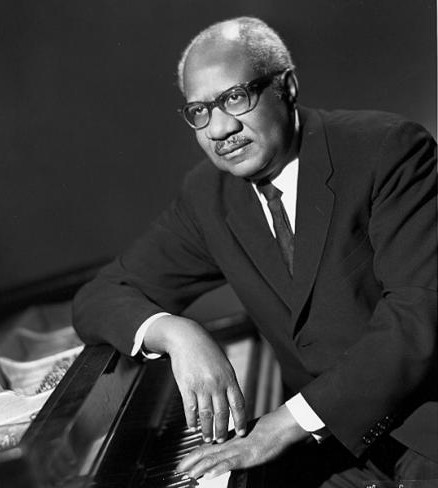 Composer Howard Swanson. Image by Maurice Seymour. Held at the Center for Black Music Research at Columbia College Chicago. Used with permission.