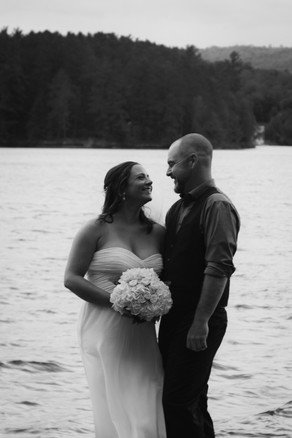 Bride and groom waterfront ceremony_edit