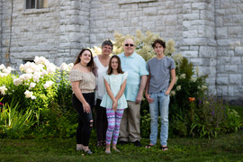 50th wedding anniversary extended family session