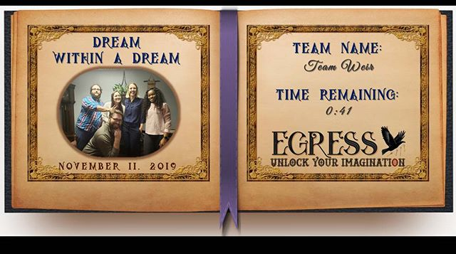 Team Weir _egressescaperoom