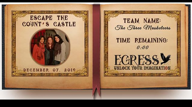 The Three Musketeers _egressescaperoom