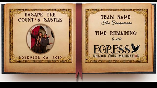The Conquerors _egressescaperoom