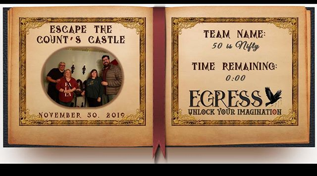50 is Nifty _egressescaperoom