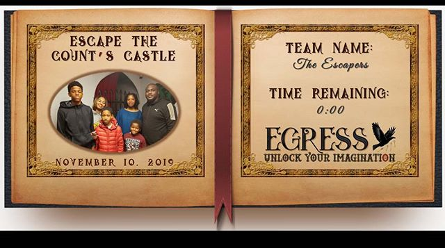 The Escapers _egressescaperoom