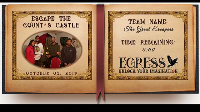 The Great Escapers _egressescaperoom