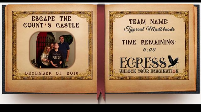Typical Mudbloods _egressescaperoom