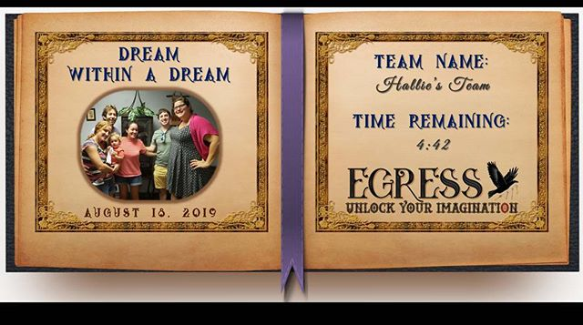 Hallie's Team _egressescaperoom