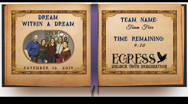 Team Five _egressescaperoom