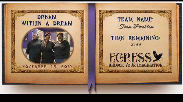 Team Pwoblem _egressescaperoom