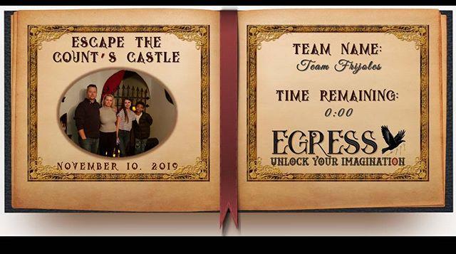 Team Frijoles _egressescaperoom