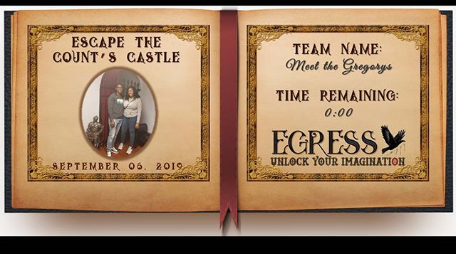 Meet the Gregorys _egressescaperoom
