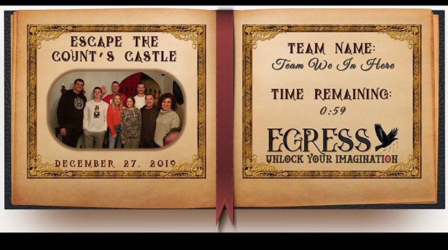 Team We In Here _egressescaperoom