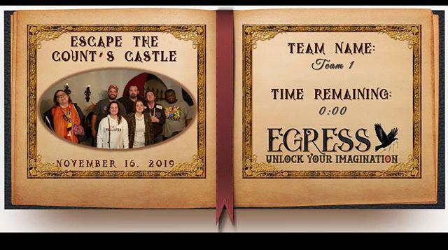 Team 1 _egressescaperoom