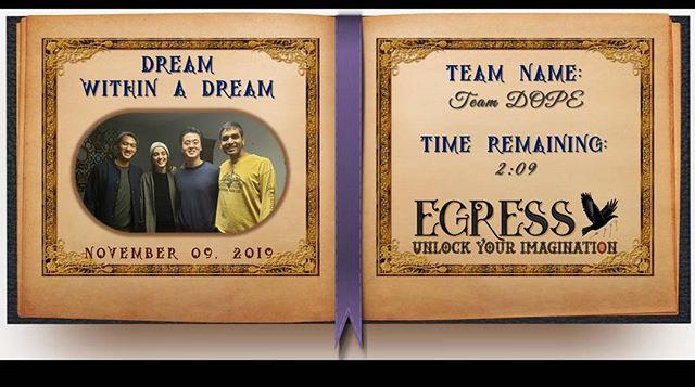 Team DOPE _egressescaperoom
