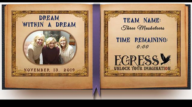 Three Musketeers _egressescaperoom