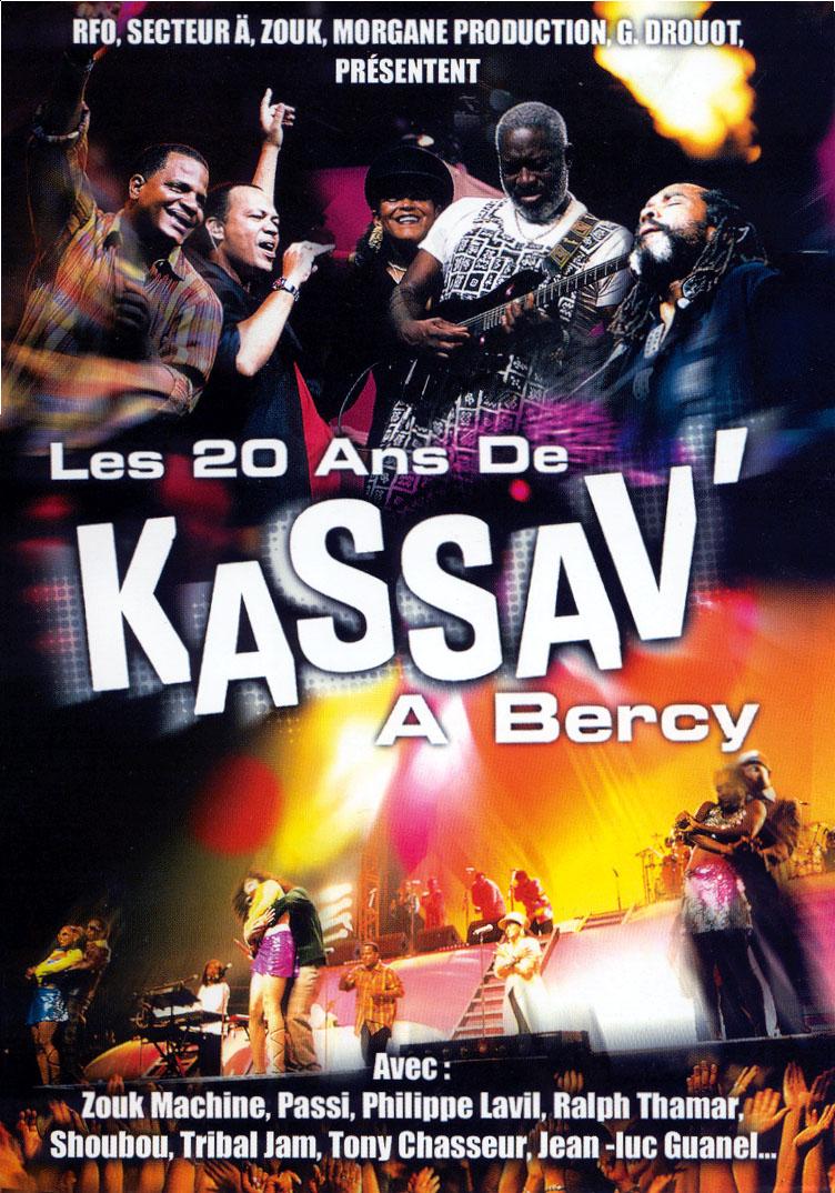 Kassav 20ans DVD