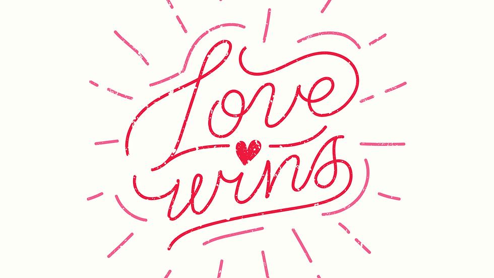 Love Wins Card
