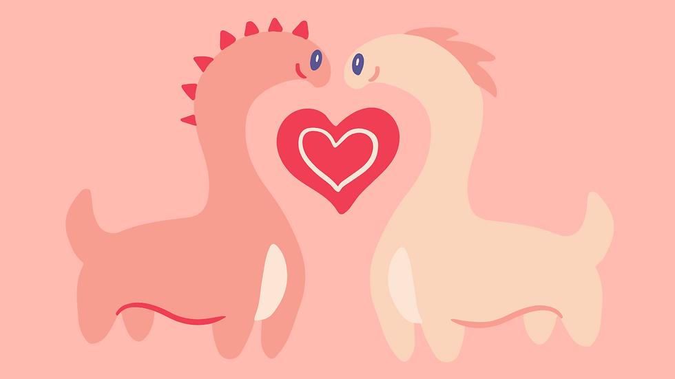 Loch Ness Love Card