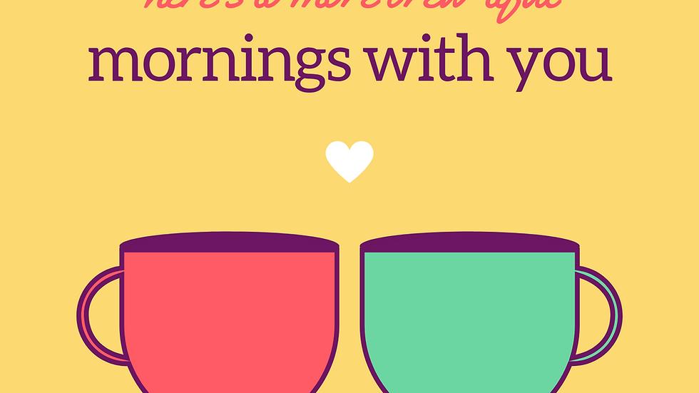 Brew'tiful Morning Card