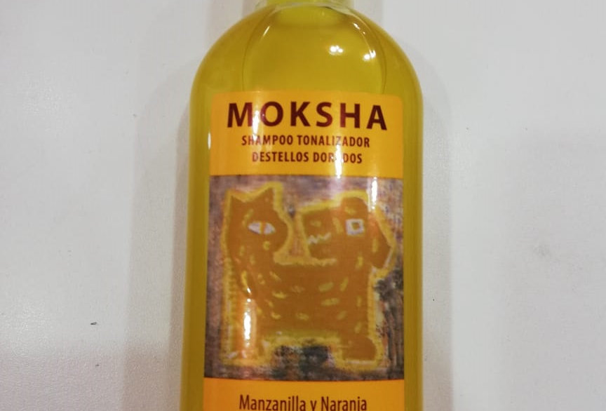 Shampoo Moksha Tonalizador DORADO 250cc