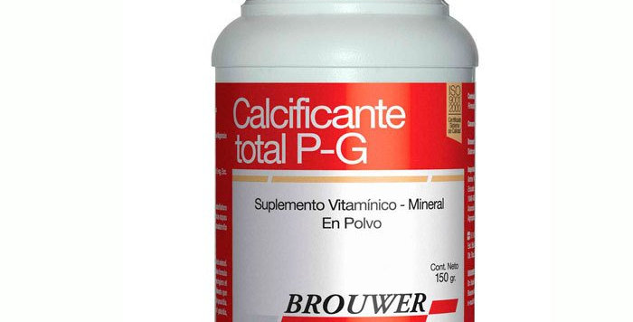 Calcificante Total P-g Palatable 60 comprimidos BRPUWER