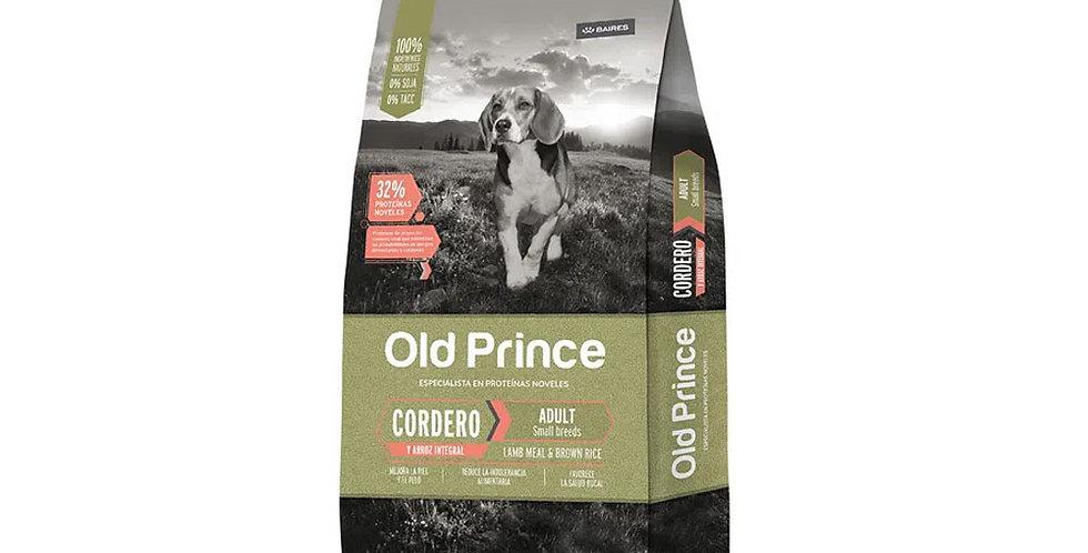 Old prince Perro Cordero y Arroz para Adultos Small Breed