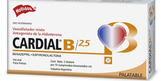 Cardial B 2.5mg x blister (10 comprimidos) HOLLIDAY